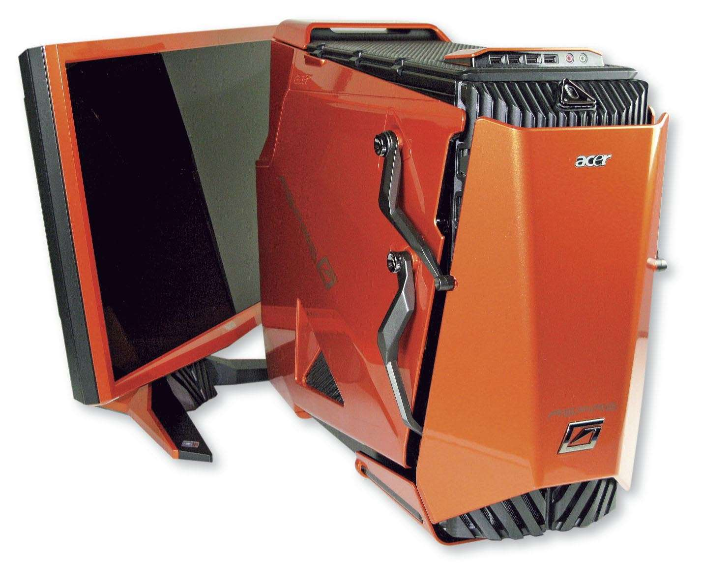 Aspire Predator Acer Review Desktop Looks