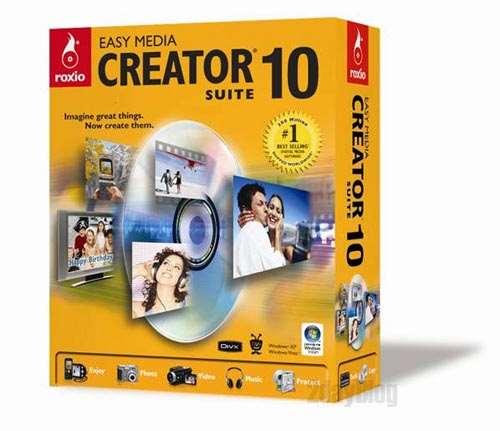 Roxio Easy Media Creator 10 Suite - PC & Tech Authority