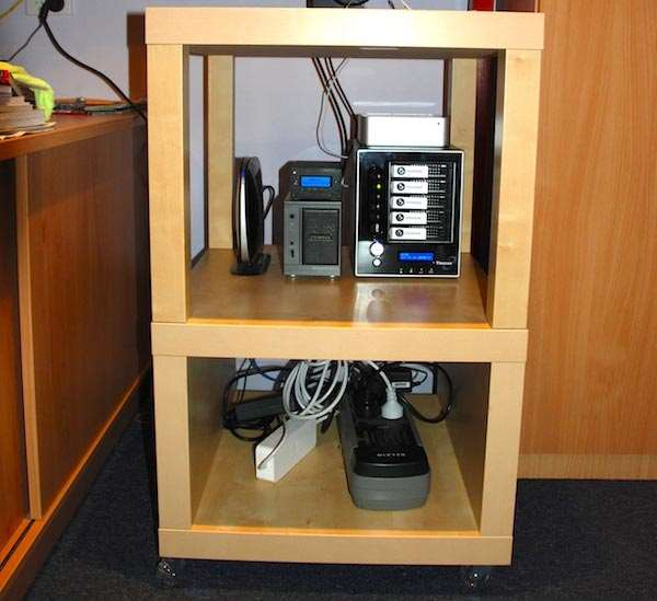 Home Office: Making A Cheap IKEA Server Rack