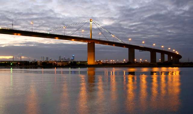 west gate bridge The 25-km/16-mile long cable-stayed-concrete west gate bridge in melbourne,  australia, is prepped for added traffic lanes with basf's mbrace composite.