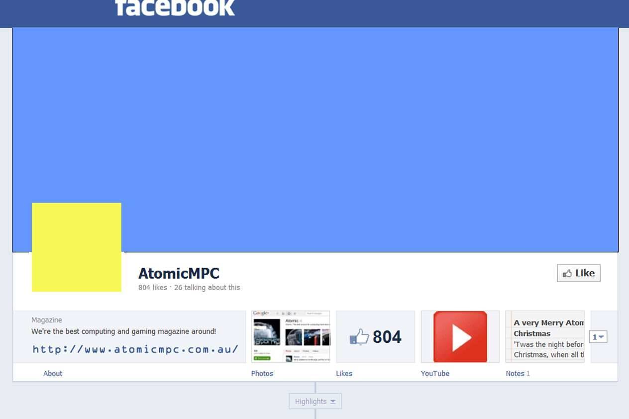 How To Mod Your Facebook Timeline Profile With Photoshop Atomic
