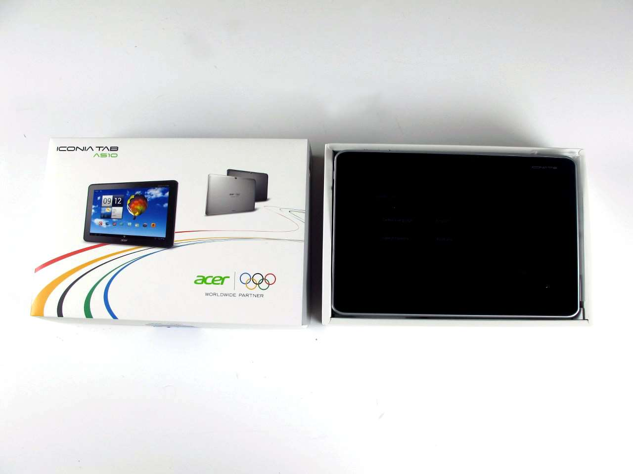 unboxed acer iconia tab a510 pc tech authority. Black Bedroom Furniture Sets. Home Design Ideas