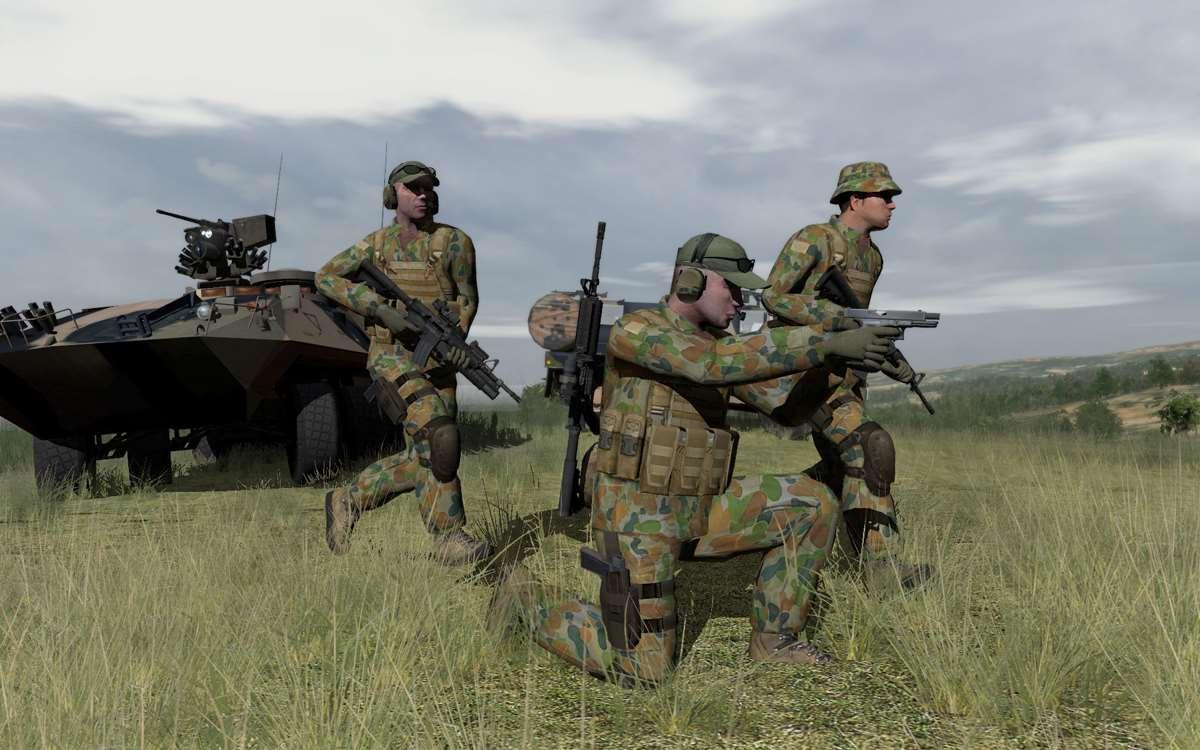 Photos Army Upgrades Battlefield Simulator Software