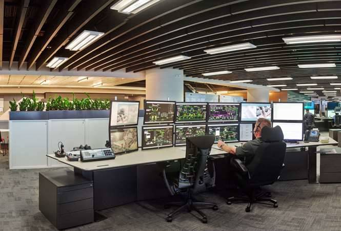 Photos Inside Bhp Billiton S Iroc Control Centre