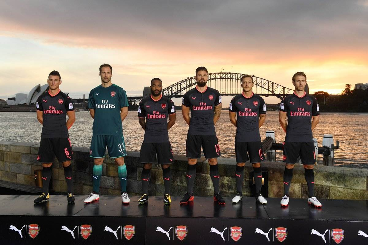 3361f3854 Arsenal unveils third kit overlooking Sydney Harbour - Style - FTBL Life