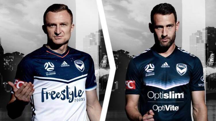 Melbourne Victory Release New   Kits