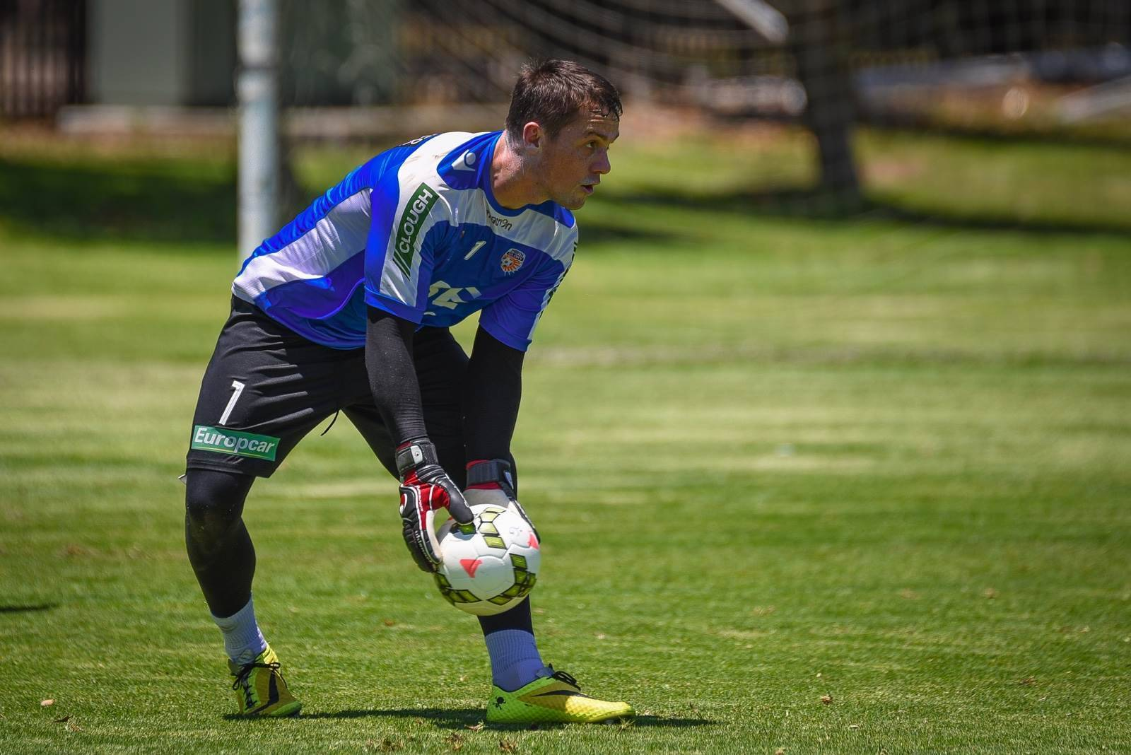 On the sidelines: 2014/15 Perth Glory squad in training