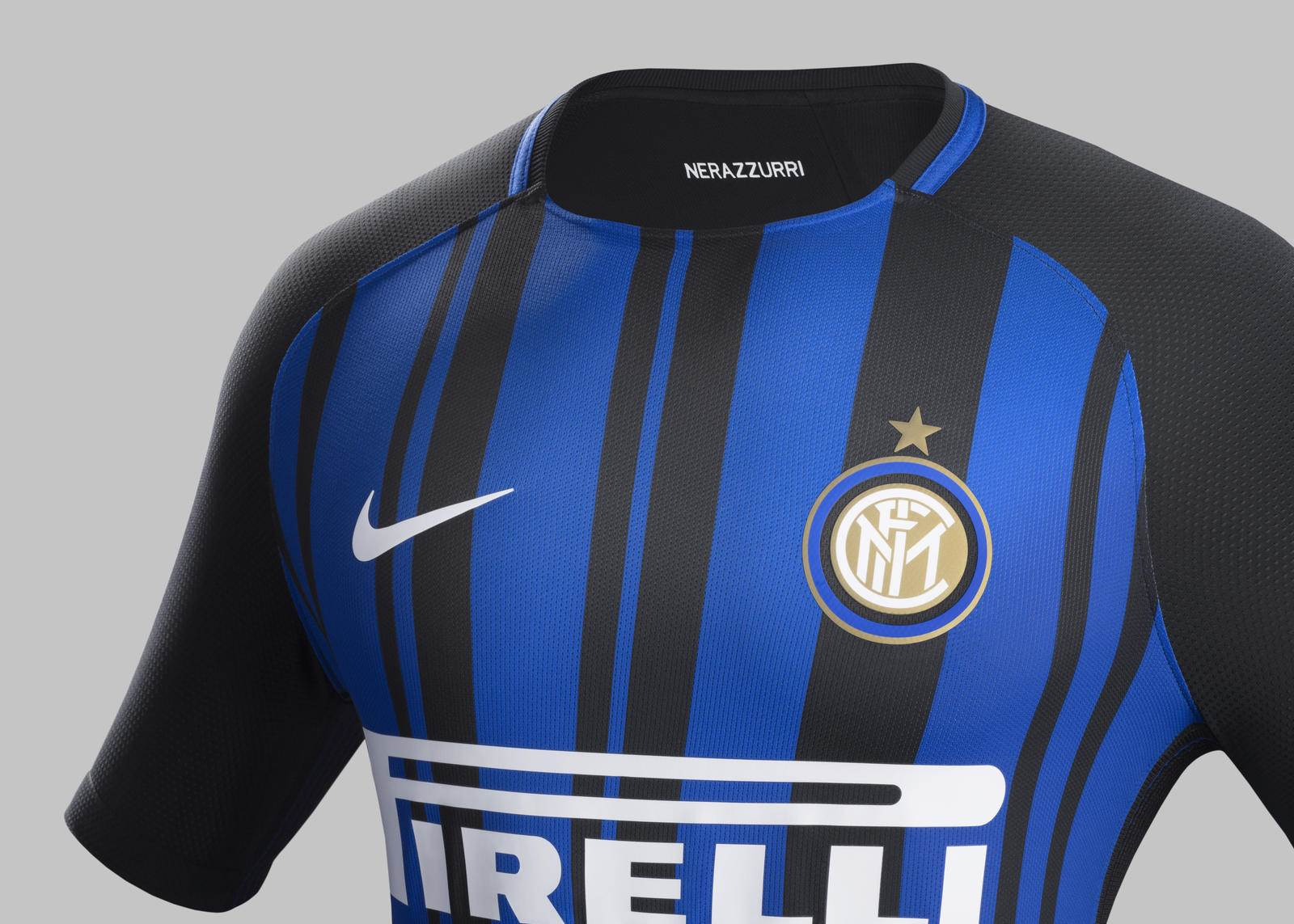 official photos e1350 34e3b Gallery: Internazionale's 2017-18 home kit unveiled - Style ...