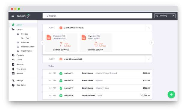 First Looks At Invoicego Services Software Business IT - Invoice2go software