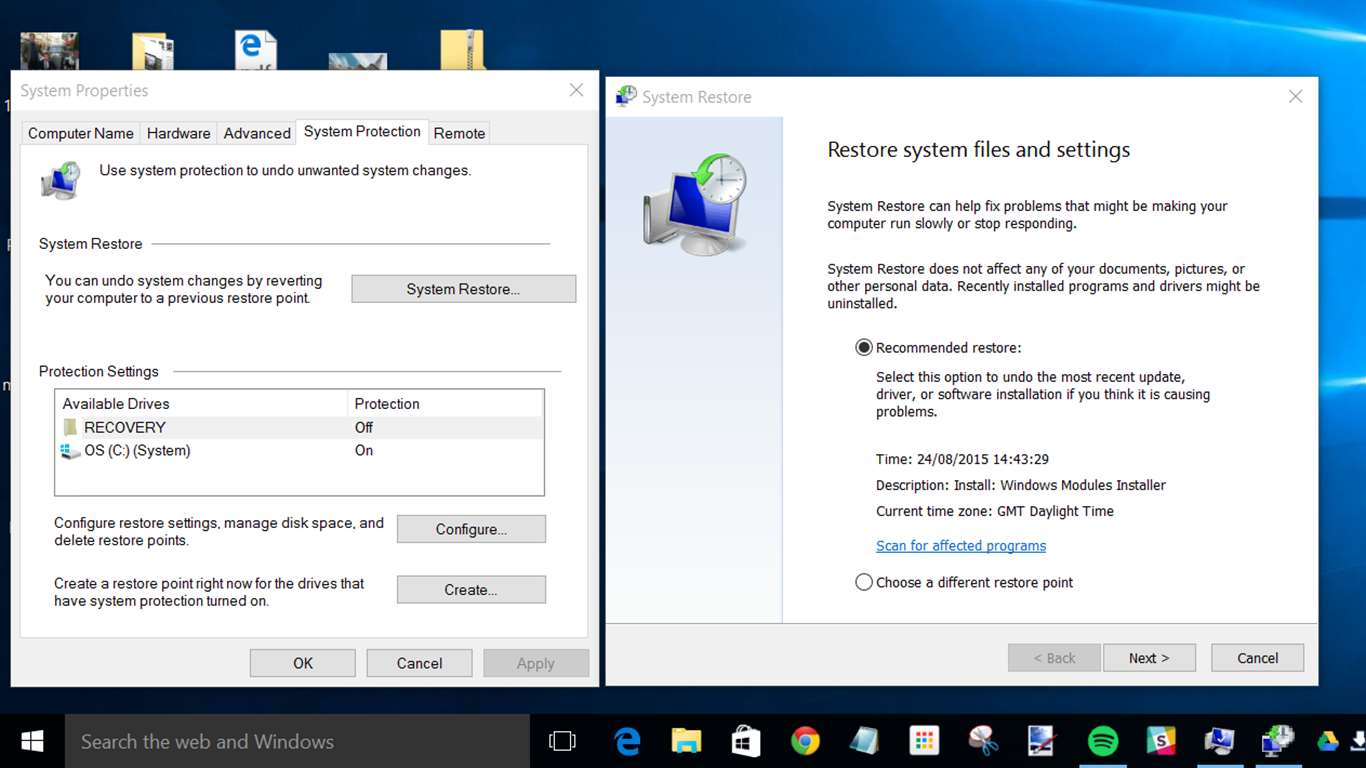 How to Delete System Restore Files