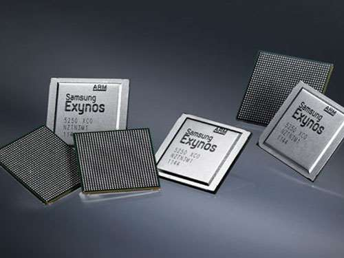 Samsung Galaxy S III quad-core Exynos processor
