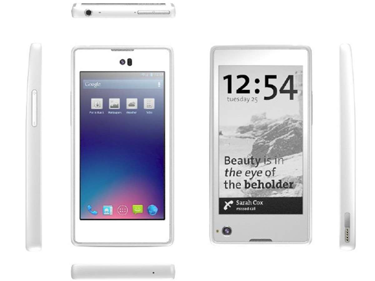 YotaPhone promises dual-screen E Ink and LCD mobile for ...
