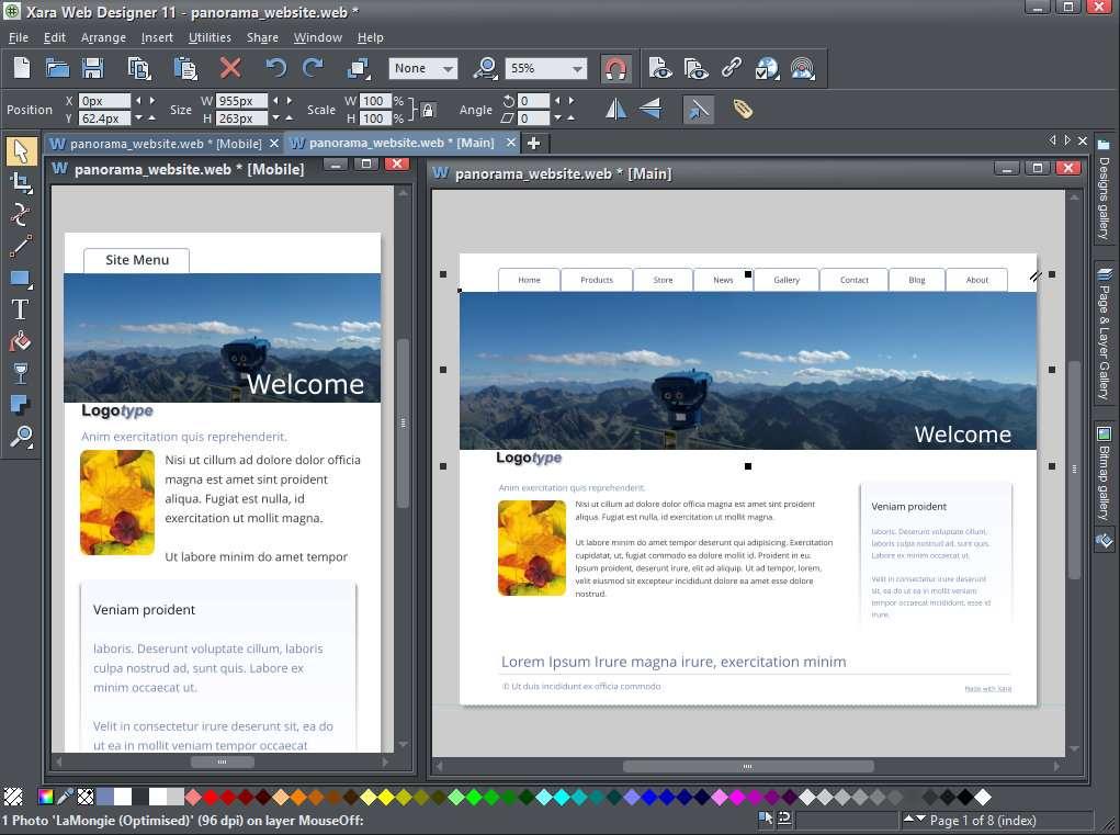 Xara Web Designer 11 Debuts Online Editing Software Business It