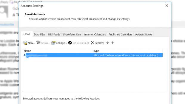 How to recall an email in Microsoft Outlook