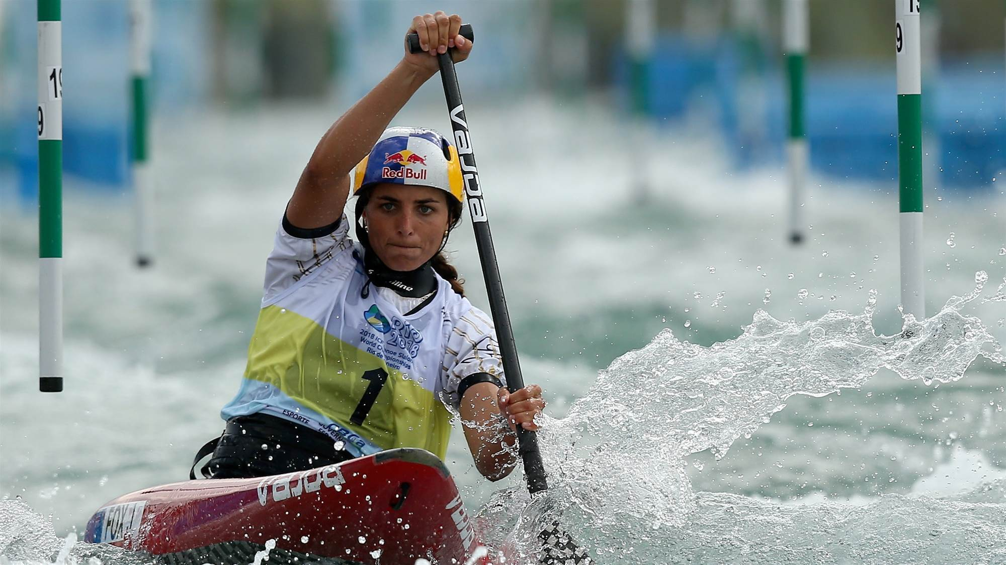 Fox takes out prestigious world paddling award