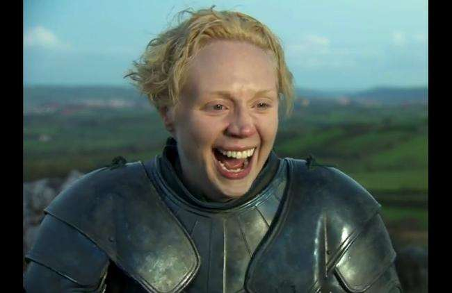 Brienne of tarth gif