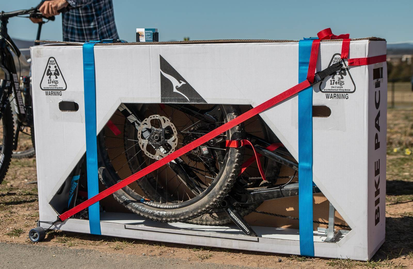 Air travel made easy with Bike Box Rollers