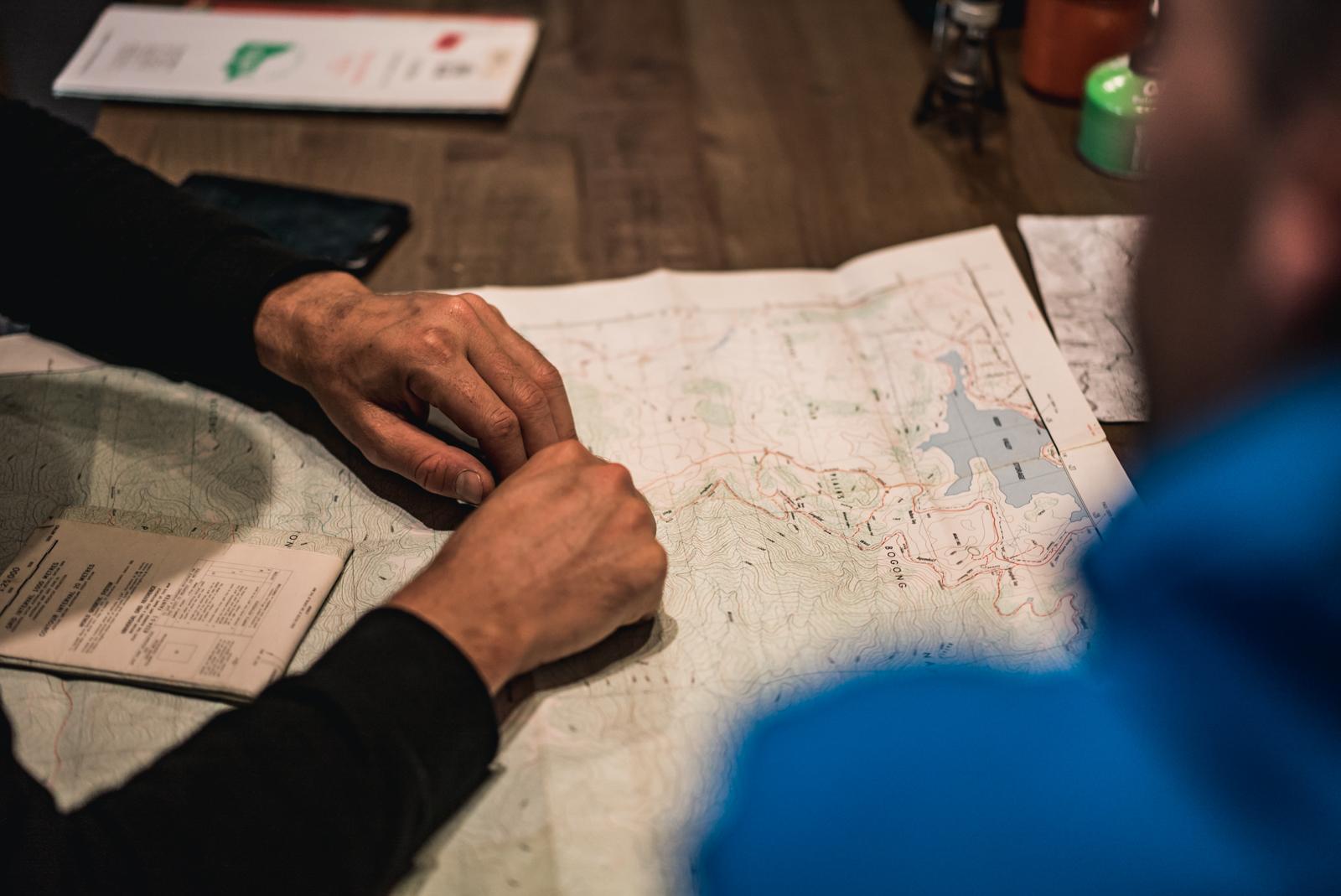 The forgotten art of map reading
