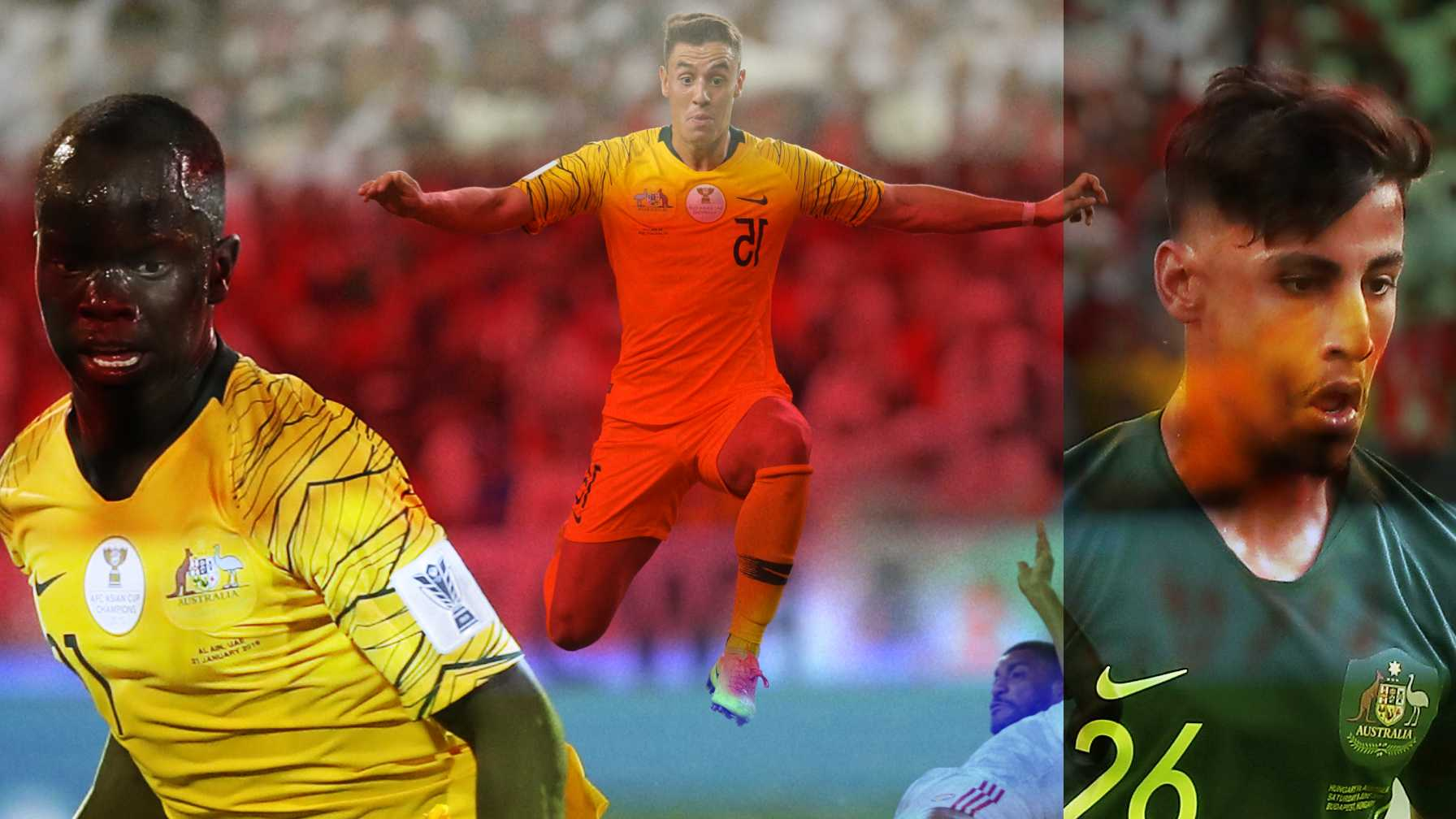 'Scary' strikers are Socceroos' X-factor on Road to Qatar