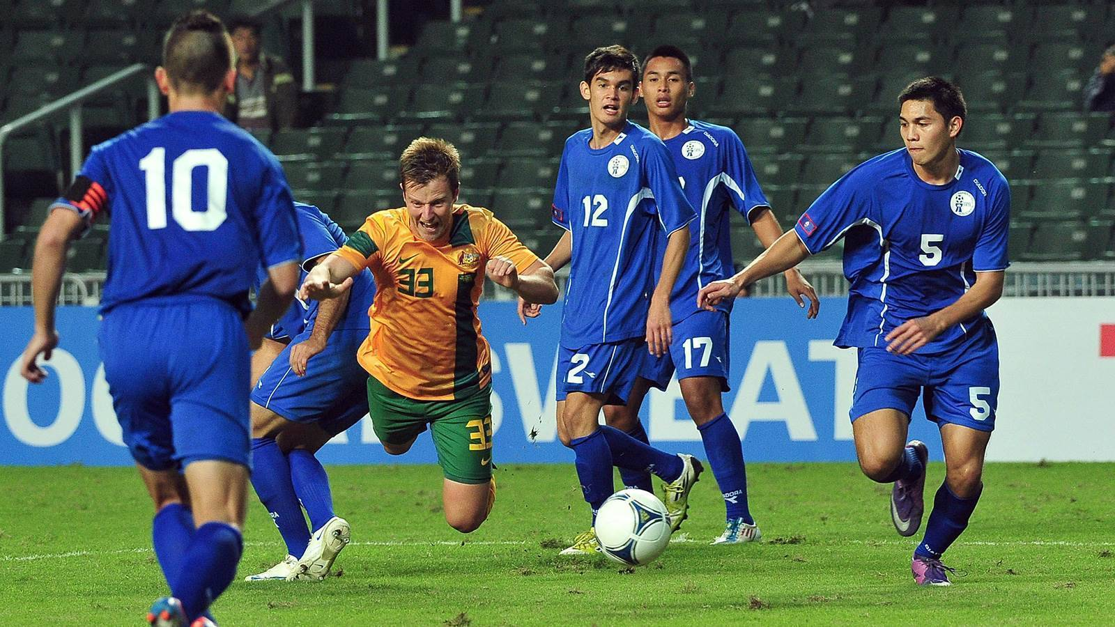 Aussie coached Guam could face Socceroos on road to Qatar 2022