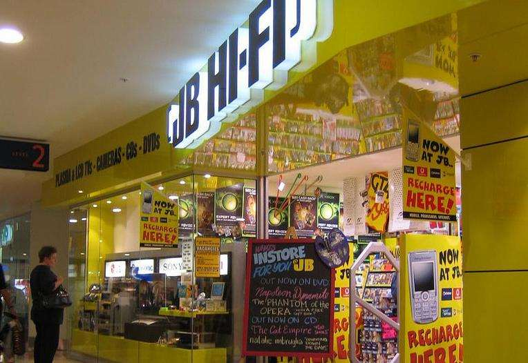 Report on Harvey Norman and JB –Hi –Fi.