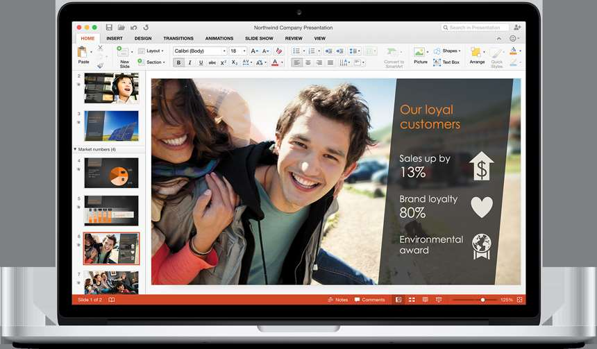 Microsoft previews Office 2016 for Mac