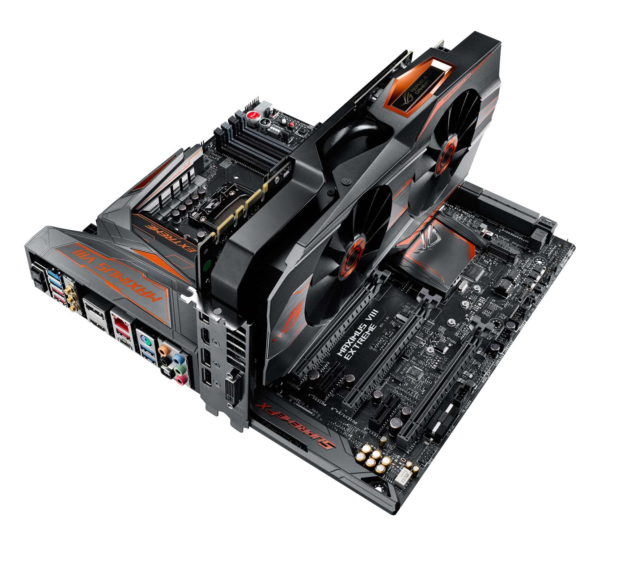 Asus reveals new ROG Maximus VIII mobo, and Matrix GTX 980 Ti | Components | News | PC PowerPlay ...
