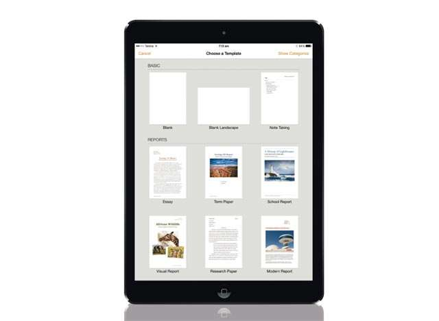 Pages for iPad and iPhone: finally giving Microsoft Word a