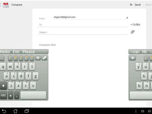 best android apps AI FloatnSplit tablet keyboard