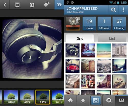 best samsung galaxy S3 apps instagram