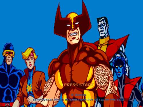 best superhero games ever x-men arcade
