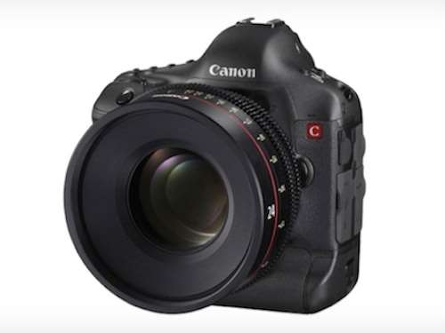 canon 4K EOS DSLR camera rumour