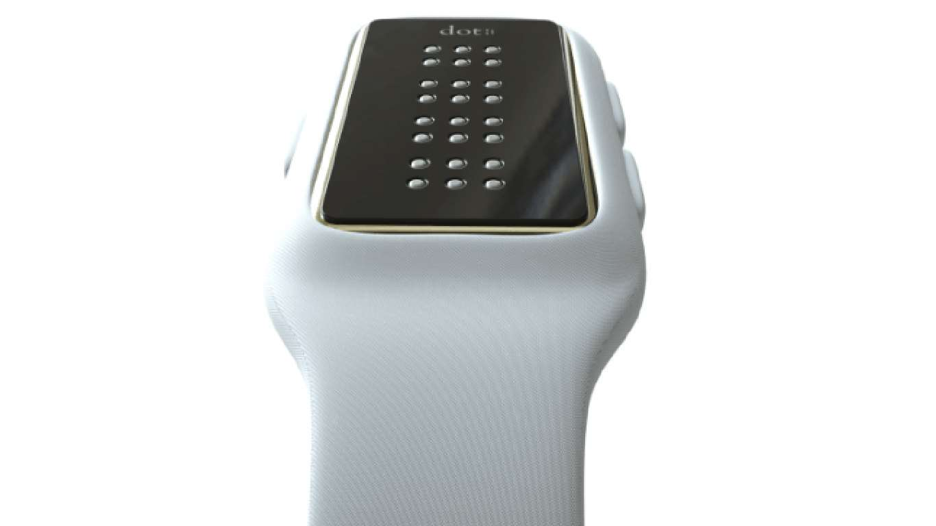 Smartwatch for the blind displays braille in real time ...