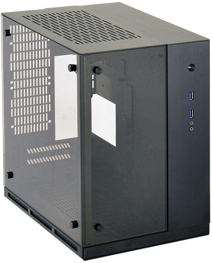 Lian Li Adds Tempered Glass To Sff Pc Q37 Pc Case Atomic
