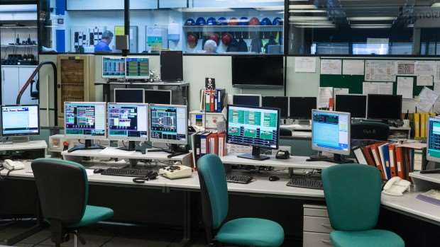 Engineering the future of fusion pc tech authority for Futuristic control room