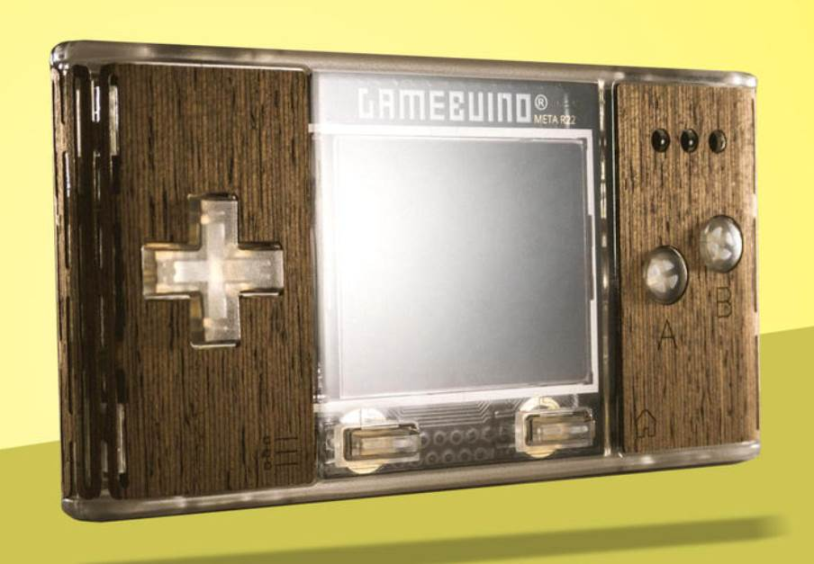 unleash your bedroom coder with the gamebuino meta retrogaming console