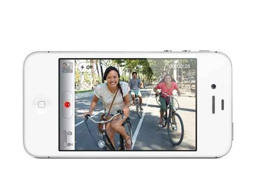 iPhone 4S hd video
