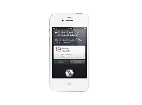 iPhone 4S siri and OS