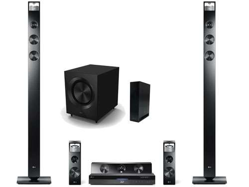 The bh9520tw 3d surround sound home cinema system wraps things off