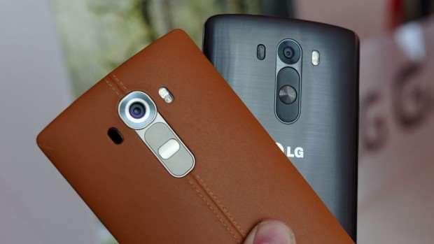 Samsung Galaxy S6 vs LG G4 - LG G4 Design with LG G3