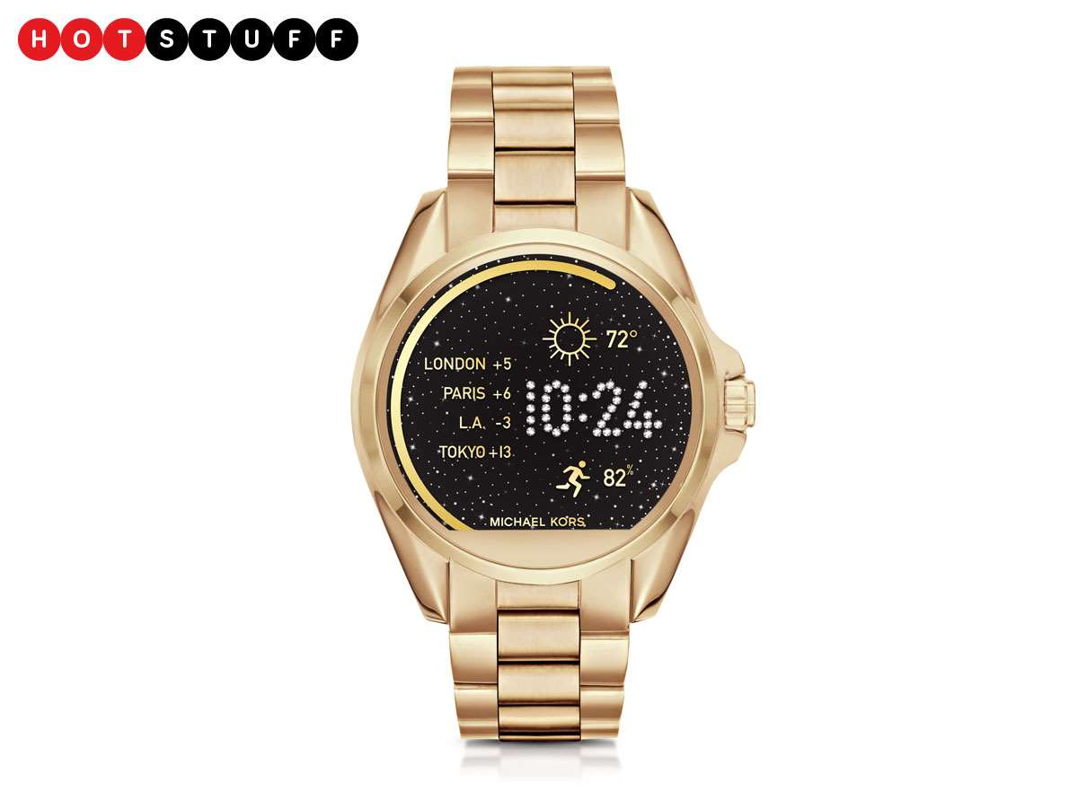 Michael Kors Access smartwatch brings high fashion to your ...