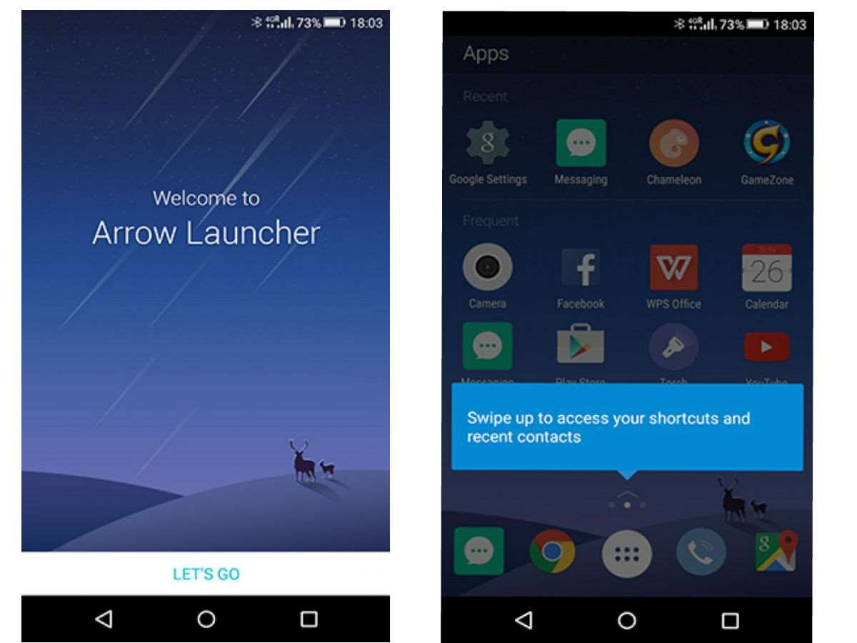 Microsoft testing out new android home launcher misc for Wallpaper home launcher