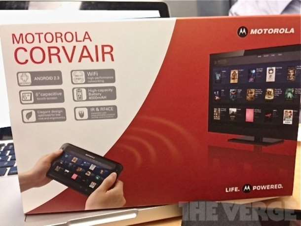 rumour mill motorola corvair android tablet remote controller