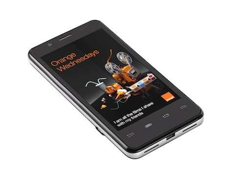 mwc 2012 orange santa clara intel phone