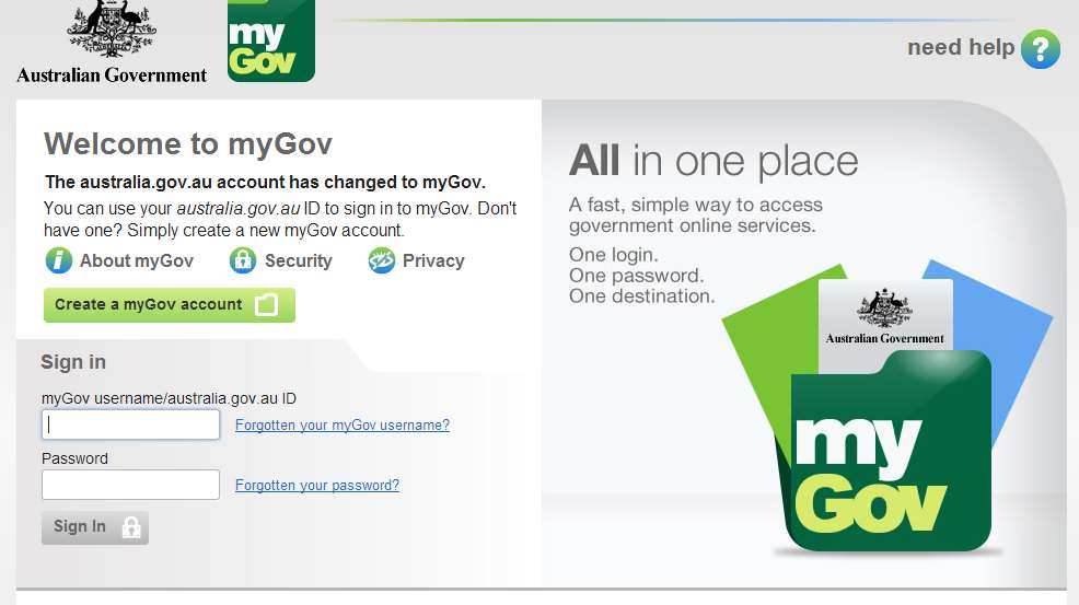 mygov tax - photo #2