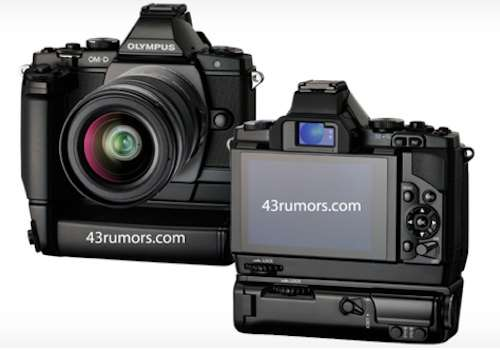 olympus OM-D front and back