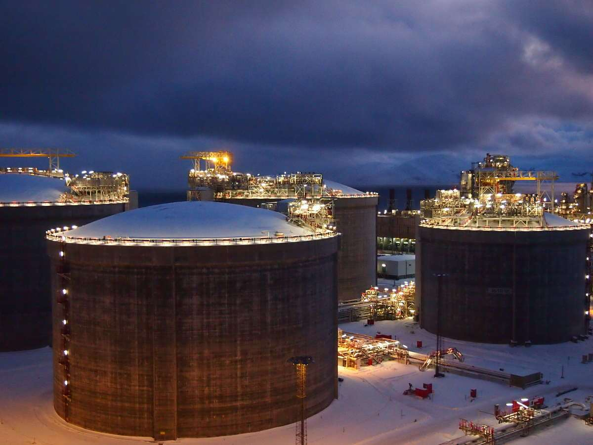 U S Natural Gas Arrives In Lithuania