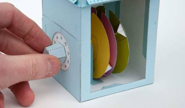 Paper Safe Made of Paper Rotors Keeps Valuables Very Slightly Safe Projects Make Australian Popular Science