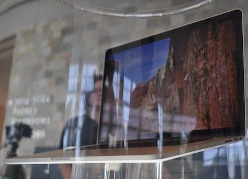 retina display macbook pro 2012 first look photos