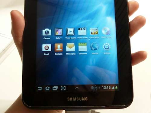 samsung galaxy tab 2 7.0 review hands on OS